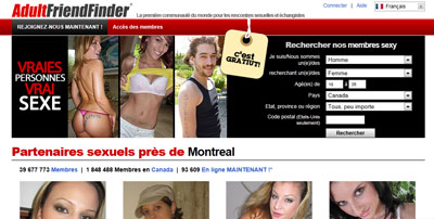 Analyse sur Adult FriendFinder